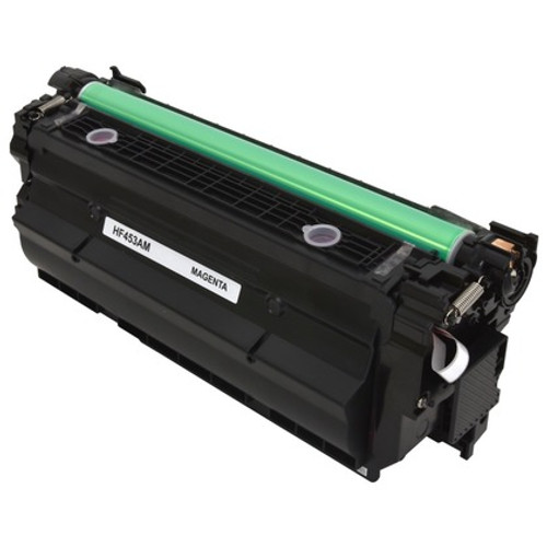 HP 655A Magenta (CF453A) Standard Yield Compatible Toner Cartridge [10,500 Pages]