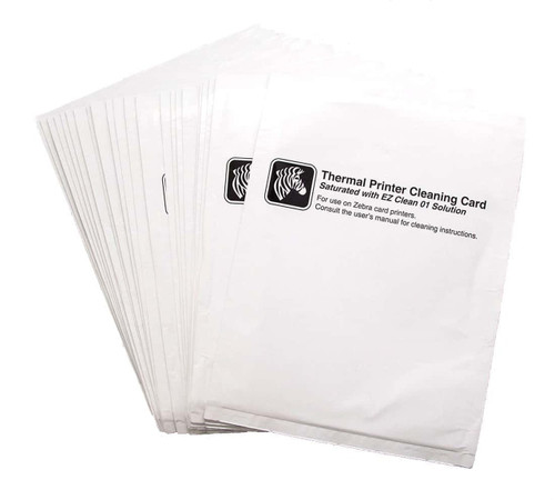 Zebra Printhead Cleaning Cards [Box of 25]