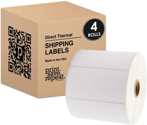 """4"""" x 2"""" Direct Thermal Shipping Labels 