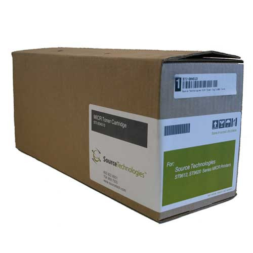 Genuine Source Technologies STI-204513H High Yield MICR Toner Cartridge for ST9620 [10,000 Pages]