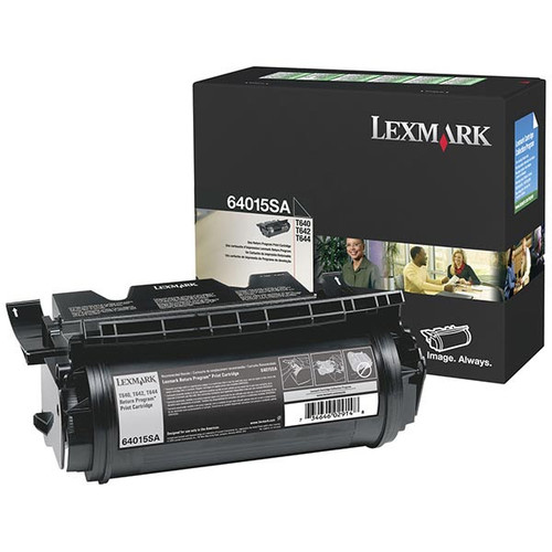 Genuine Lexmark 64015SA Toner Cartridge for T640, T642, T644 [6,000 pages]