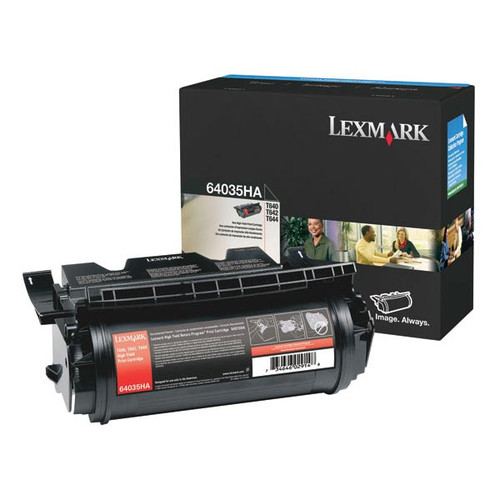 OEM Lexmark 64035HA High Yield Toner Cartridge for T640, T642, T644 [21,000 Pages]