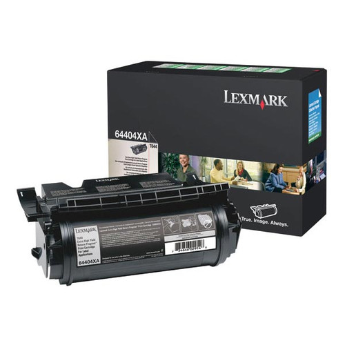 Genuine Lexmark 64404XA Extra High Yield Label Applications Toner Cartridge for T644 [32,000 pages]
