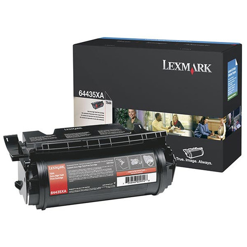 Genuine Lexmark 64435XA Extra High Yield Toner Cartridge for T644 [32,000 pages]