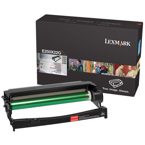 Genuine Lexmark E250X22G Photoconductor (PC) Kit for E250, E350, E352, E450 [30,000 pages]