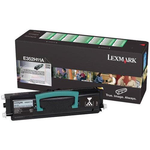 Genuine Lexmark E352H11A High Yield Toner Cartridge for E350, E352 [9,000 pages]