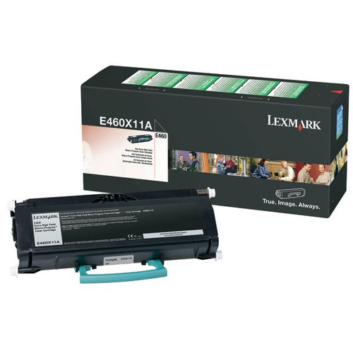 Genuine Lexmark E460X11A Extra High Yield Toner Cartridge for E460 [15,000 pages]