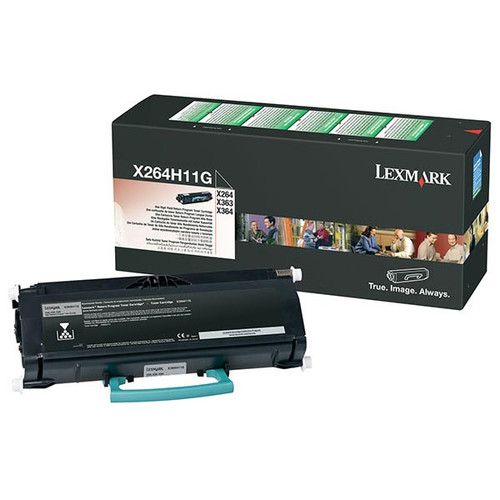 OEM Lexmark X264H11G High Yield Toner Cartridge