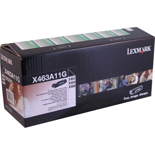 Genuine Lexmark X463A11G Toner Cartridge for X463, X464, X466 [3,500 pages]