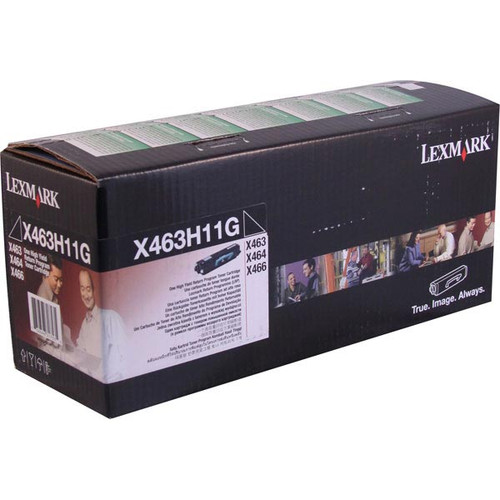 Genuine Lexmark X463H11G High Yield Toner Cartridge for X463, X464, X466 [9,000 pages]