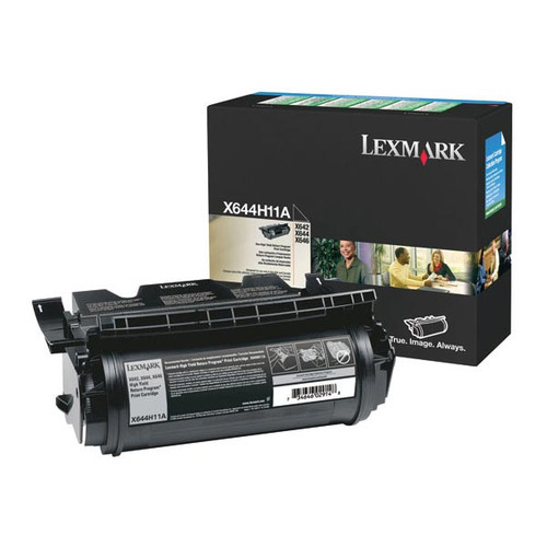Genuine Lexmark X644H11A High Yield Toner Cartridge for X642, X644, X646 [21,000 pages]