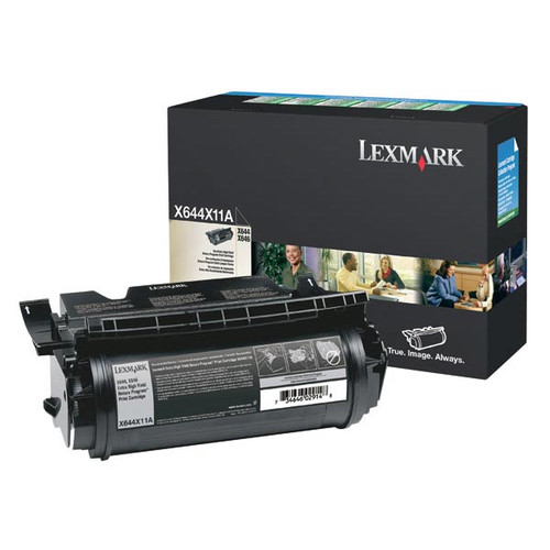 Genuine Lexmark X644X11A Extra High Yield Toner Cartridge for X644, X646 [32,000 pages]