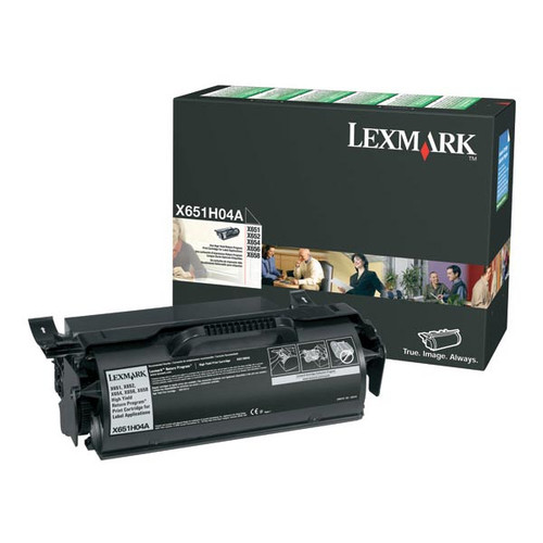 OEM Lexmark X651H04A High Yield Label Applications Toner Cartridge