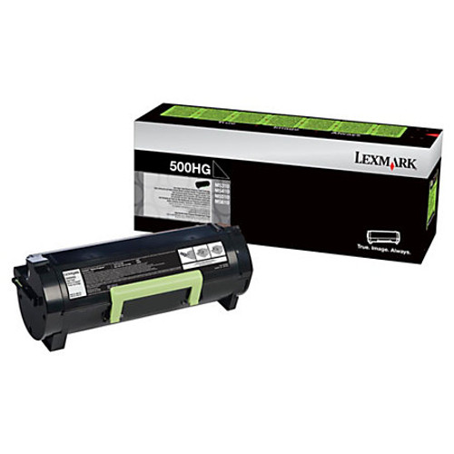Genuine Lexmark 500HG High Yield Toner Cartridge for MS310, MS410, MS510, MS610 [5,000 Pages]