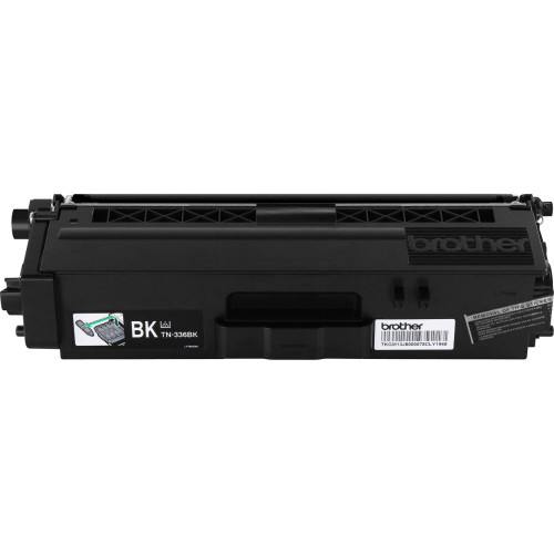 Genuine Brother TN-336BK Black High Yield Toner Cartridge for DCP-L8400, DCP-L8450, HL-L8250, HL-L8350, MFC-L8600, MFC-L8650, MFC-L8850 [4,000 Pages]