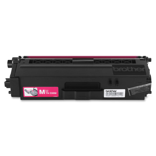 Genuine Brother TN-336M Magenta High Yield Toner Cartridge for DCP-L8400, DCP-L8450, HL-L8250, HL-L8350, MFC-L8600, MFC-L8650, MFC-L8850 [3,500 Pages]