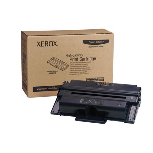 Genuine Xerox 108R00795 High Yield Toner Cartridge for Phaser 3635 [10,000 Pages]
