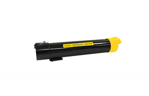 Dell T222N Yellow High Yield Remanufactured Toner Cartridge [12,000 Pages]