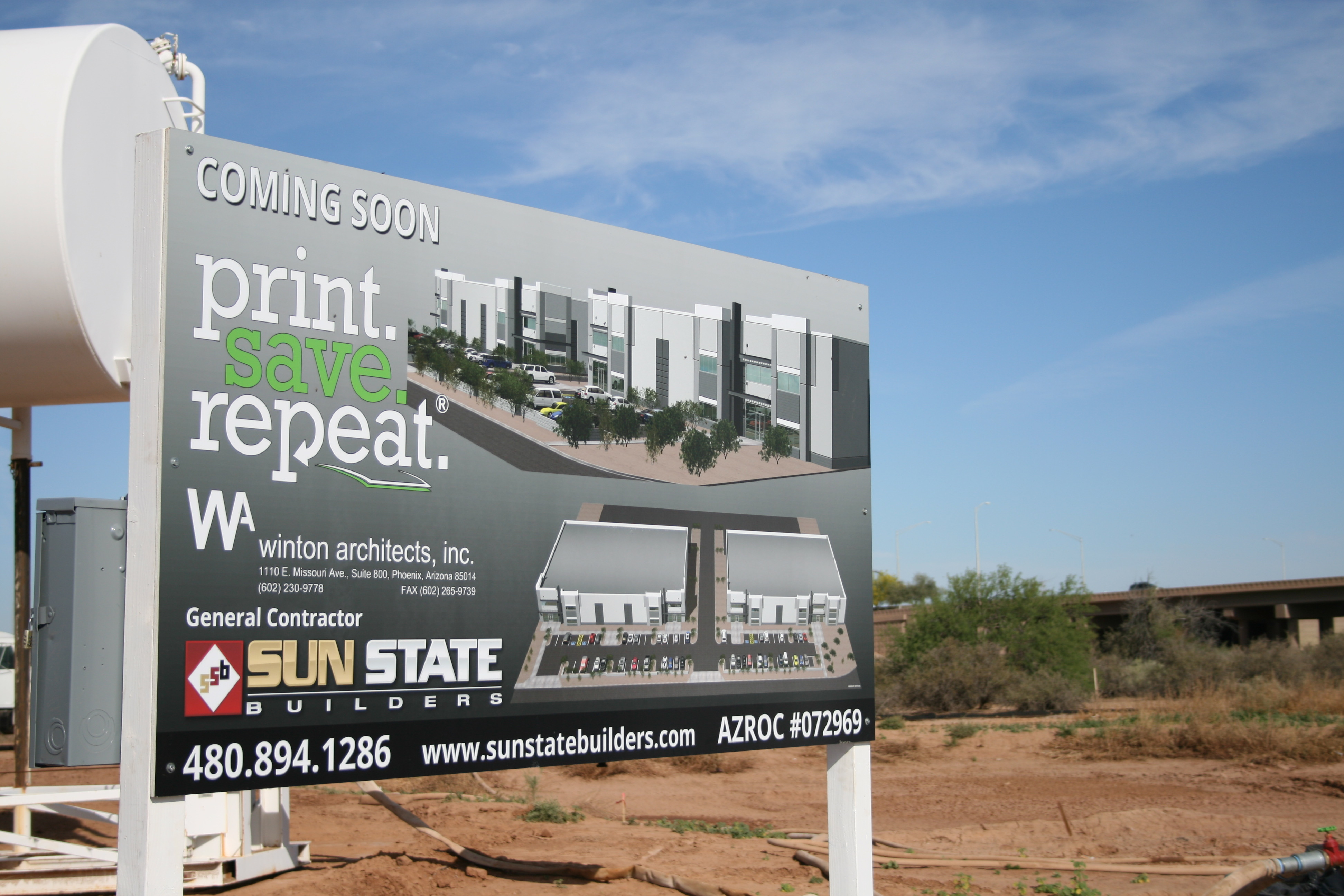 Print Save Repeat  Breaks Ground on E-Commerce Warehouse and