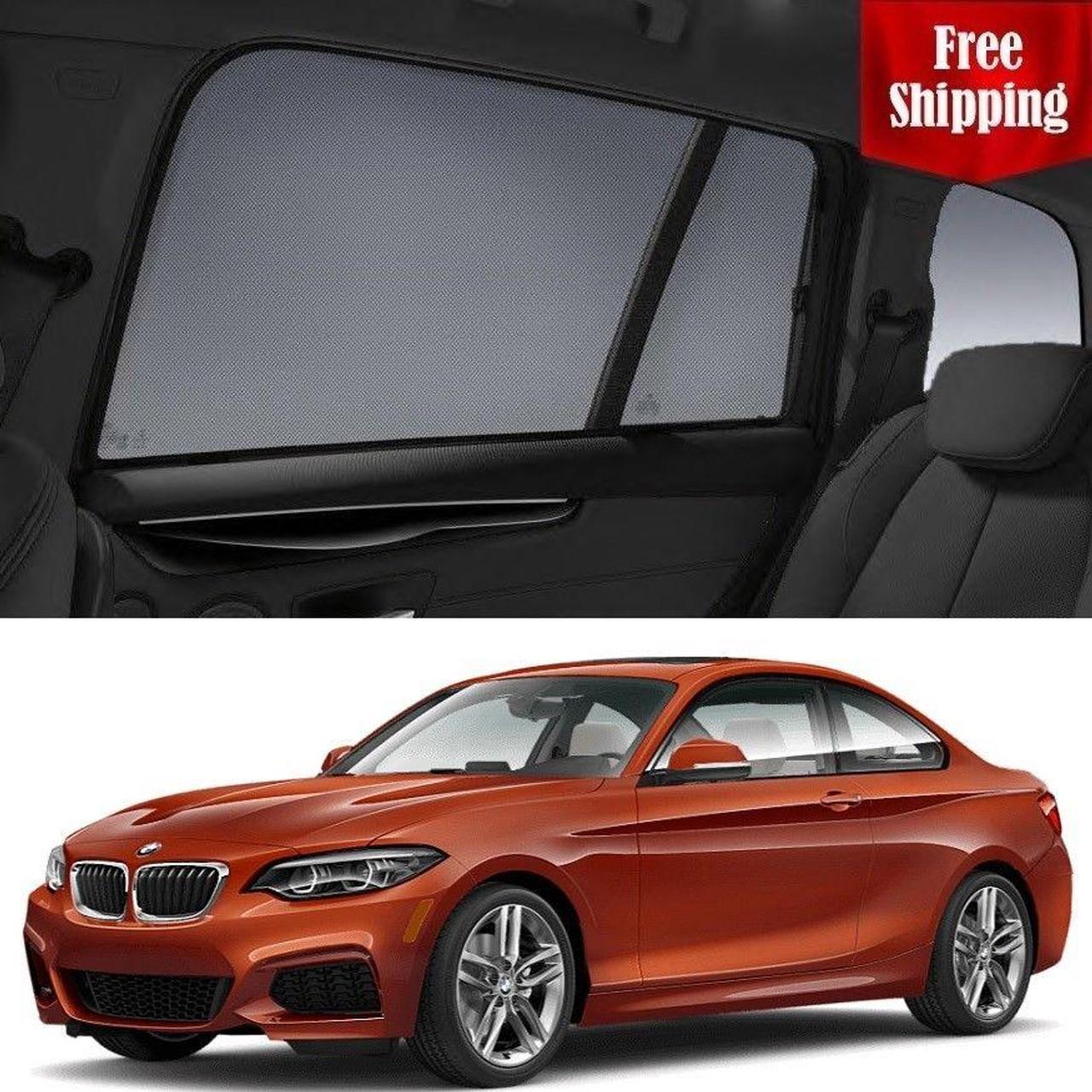Satz Car Shades kompatibel mit BMW 2-Serie F45 Active Tourer 2014
