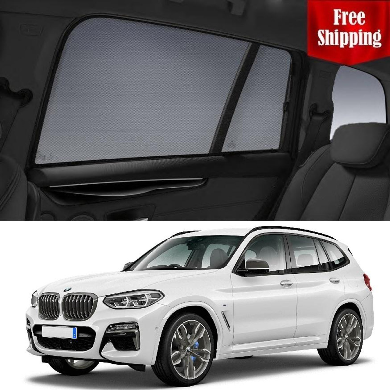 Bmw X3 2017 2019 G01 Magnetic Sun Shade Sun Blind