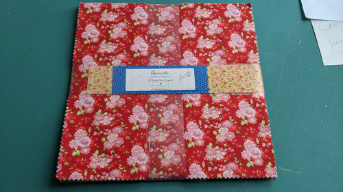 """Amorette by Kaye England (24) 10"""" square pack"""