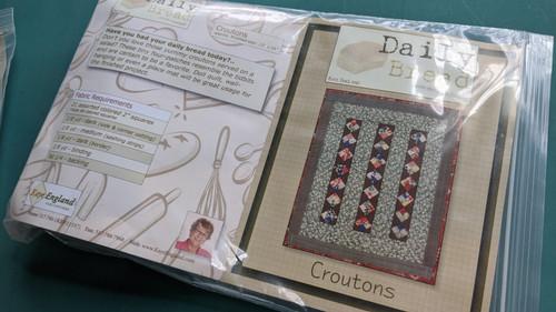 Daily Bread-Croutons kit w/BONUS thread
