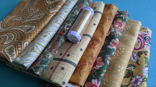 #31 Grab Bag (8) Fat Quarter pack w/BONUS thread