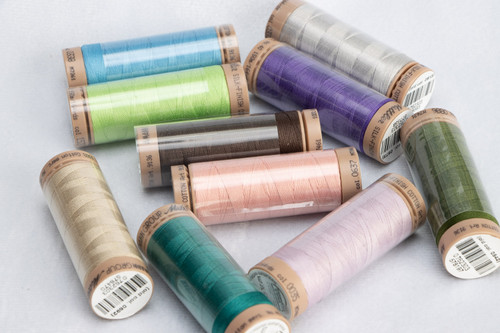 10 spools of METTLER 40wt COTTON thread (#2)