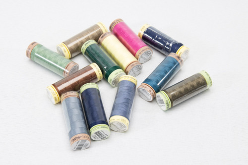 12 ASSORTED Thread spools (T2)