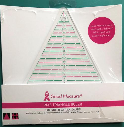 Good Measure Bias Triangle Ruler