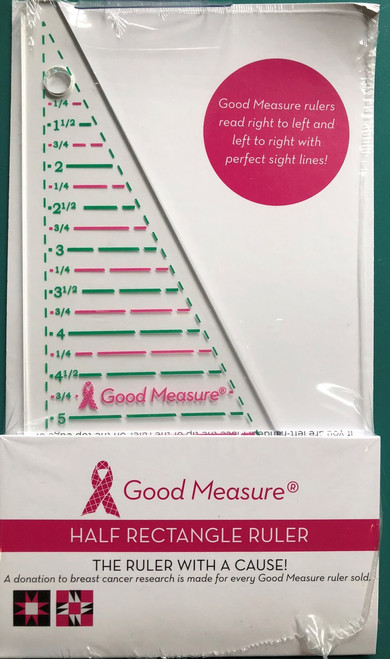 Good Measure Half Rectangle Ruler