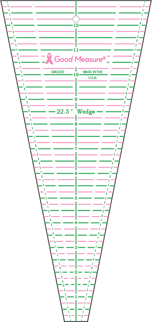 Good Measure 22.5D Wedge Ruler