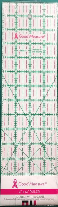 """Good Measure 4"""" x 14"""" Ruler"""
