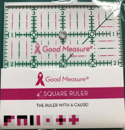 Good Measure 4 x 4 Ruler