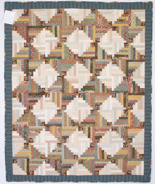 """Lots of Logs quilt - 60"""" x 72"""""""