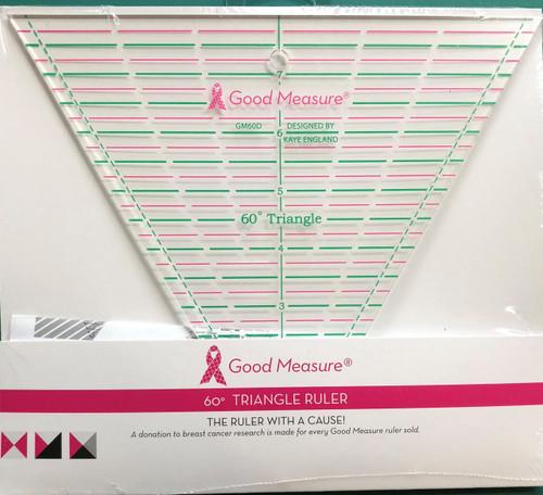 Good Measure 60D Triangle Ruler