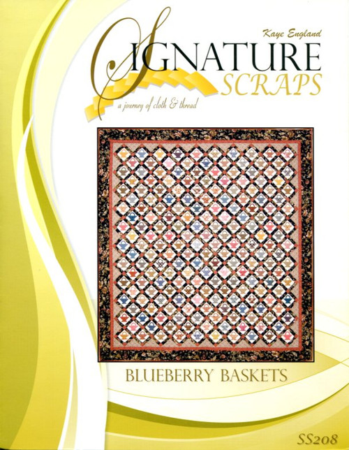 Signature Scraps-Blueberry Basket front cover