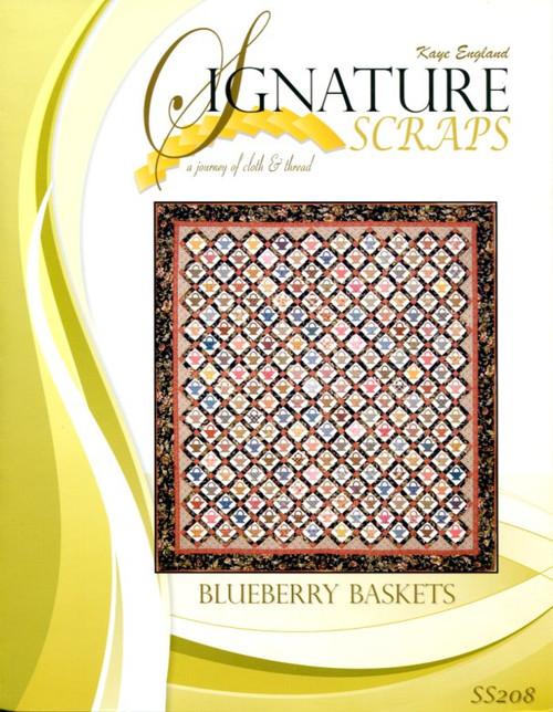 Signature Scraps-Blueberry Basket front cover