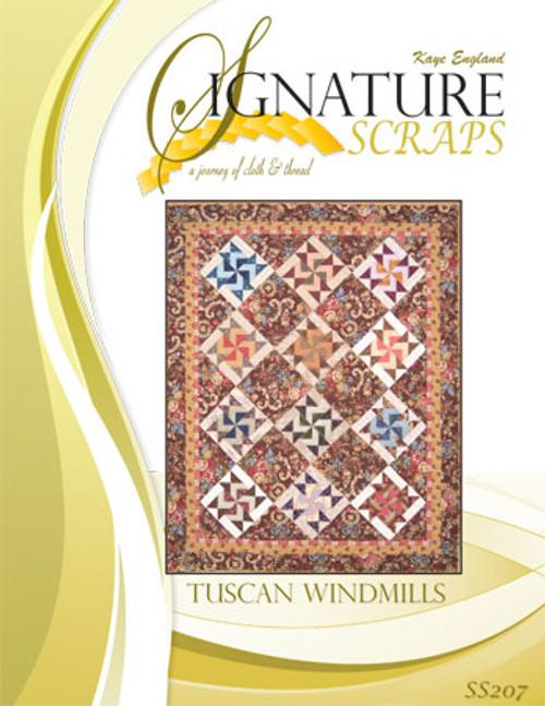 Signature Scraps - Tuscan Windmills