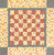 WHO doesn't love checkers,  so here is a fast, fun and easy project with a variety of colors and two options.  Could be a great wall-hanging or table topper. If you study the quilt photos, you'll see that once you make the 16 four-patch units,you just join in rows and you have a great little checkerboard. You can use buttons for checkers,  embellish the outside with yo-yos – so many choices. You could always add your own fabrics if you wanted corner-stones or make another 4-patch for the corners. - ENJOY