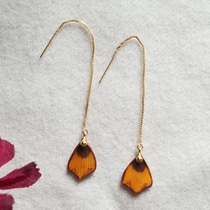 Coreopsis Ear Threads- 14K GF