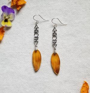 Sunflower Elemental Earrings- Sterling Silver
