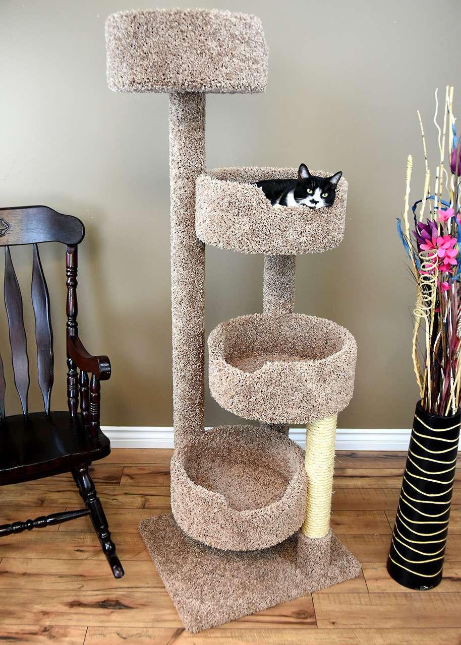 Stairway Cat Perch New Cat Condos