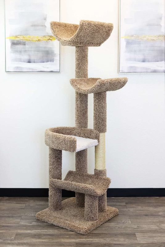 Staggered Cat Tree New Cat Condos