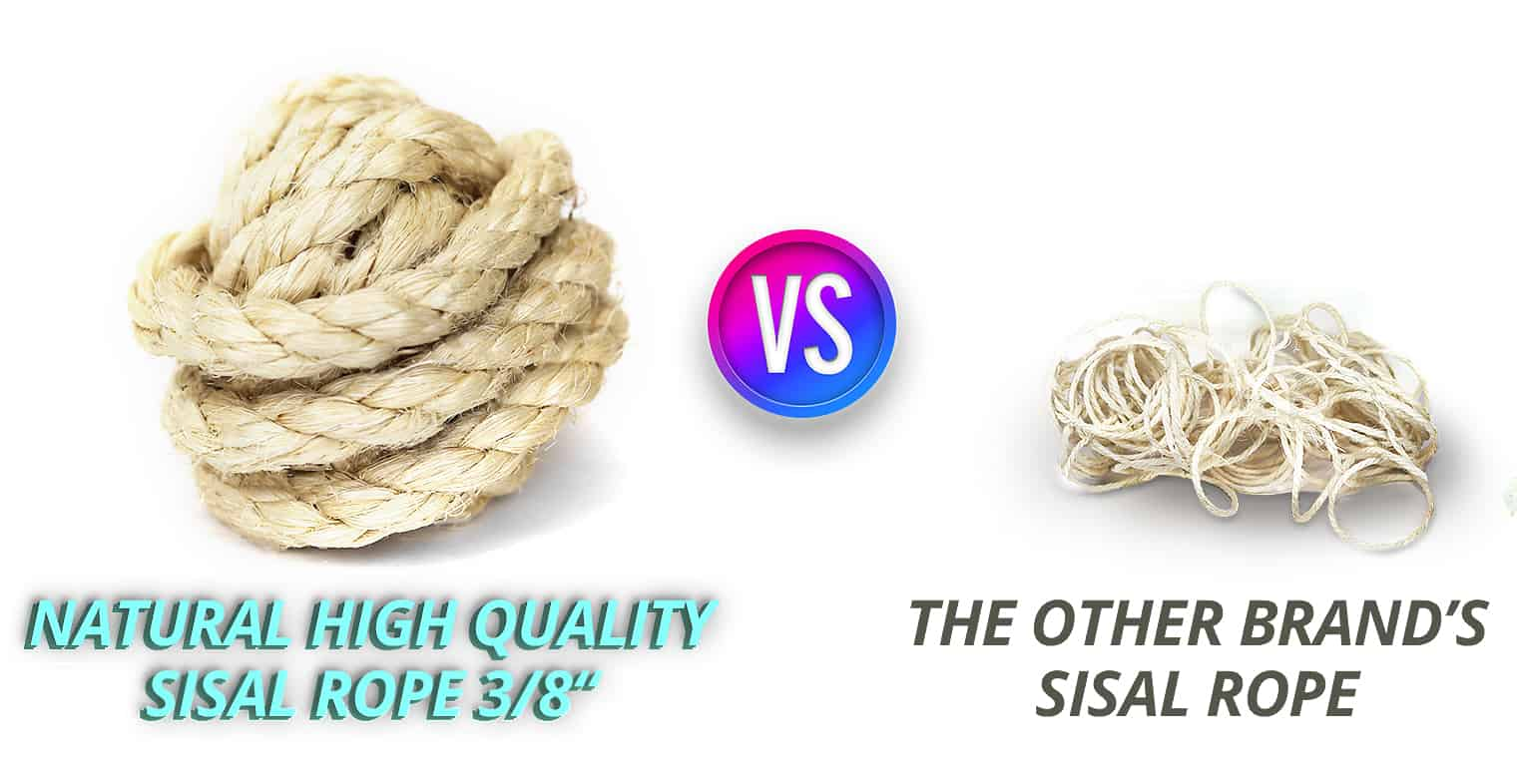 Sisal Rope Comparison