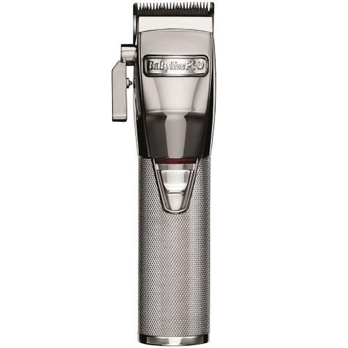 BaByliss Pro SILVERFX Metal Lithium Clipper #FX870S (Dual Voltage)