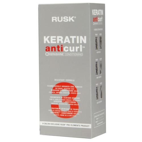 Rusk Keratin Anti Curl + Kerashine Conditioning  #3