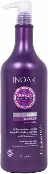 Inoar Absolute Speed Blond Shampoo 33.8oz