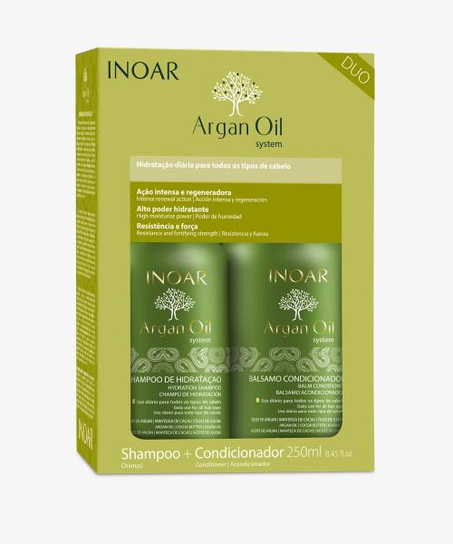 Inoar Argan Duo Kit Shampoo + Conditioner 250ml